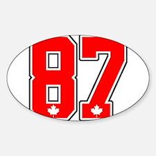 Canada Hockey Gold Medal 87 Decal