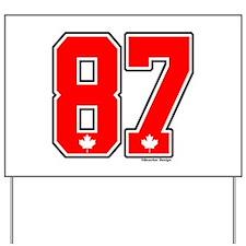 Canada Hockey Gold Medal 87 Yard Sign