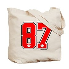 CA Canada Ice Hockey #87 Tote Bag