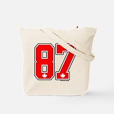 CA Canada Ice Hockey #87 Tote Bag