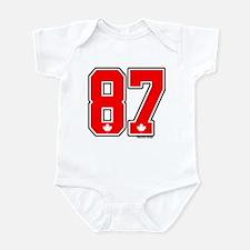 CA Canada Ice Hockey #87 Infant Bodysuit