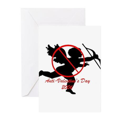 Anti-Cupid Greeting Cards (Pk of 10)