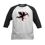 Anti-Cupid Kids Baseball Jersey