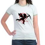 Anti-Cupid Jr. Ringer T-Shirt
