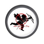 Anti-Cupid Wall Clock