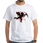 Anti-Cupid White T-Shirt