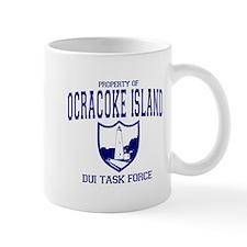 Ocracoke Island DUI Task Force Small Mug