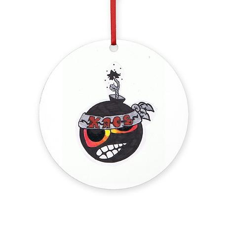 Kaos Ornament (Round)