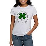 Four Leaf Clover (Gaelic) Women's T-Shirt