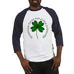Four Leaf Clover (Gaelic) Baseball Jersey