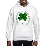 Four Leaf Clover (Gaelic) Hooded Sweatshirt