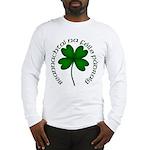 Four Leaf Clover (Gaelic) Long Sleeve T-Shirt