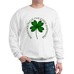Four Leaf Clover (Gaelic) Sweatshirt