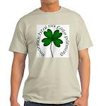 Four Leaf Clover (Gaelic) Light T-Shirt