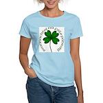 Four Leaf Clover (Gaelic) Women's Light T-Shirt