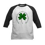 Four Leaf Clover (Gaelic) Kids Baseball Jersey