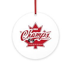 Canada 2010 Ornament (Round)