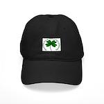 Four Leaf Clover (Gaelic) Black Cap