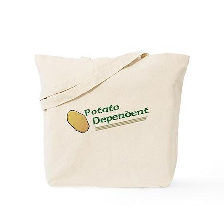 Potato Dependent Tote Bag