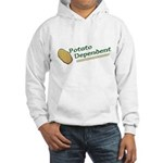 Potato Dependent Hooded Sweatshirt