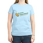 Potato Dependent Women's Light T-Shirt