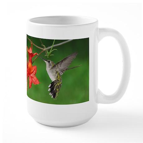 Hummingbird pair Large Mug