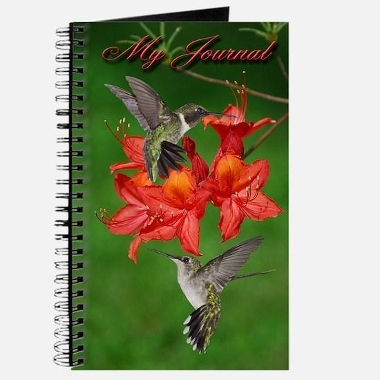Hummingbird pair Journal