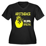 Abstinence: 99.99% Effective Women's Plus Size V-N