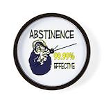 Abstinence: 99.99% Effective Wall Clock