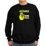 Abstinence: 99.99% Effective Sweatshirt (dark)