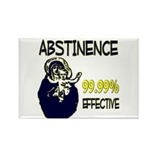 Abstinence: 99.99% Effective Rectangle Magnet