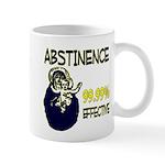 Abstinence: 99.99% Effective Mug