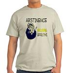 Abstinence: 99.99% Effective Light T-Shirt