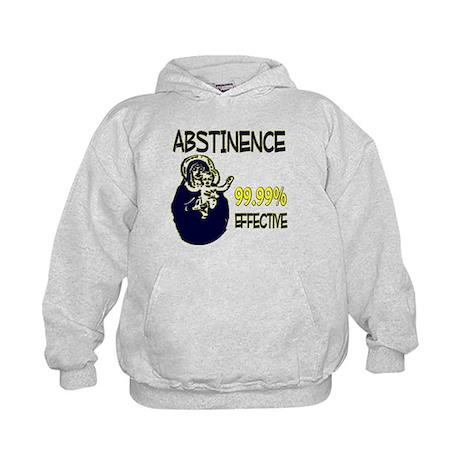 Abstinence: 99.99% Effective Kids Hoodie