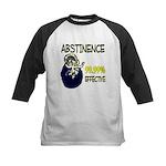 Abstinence: 99.99% Effective Kids Baseball Jersey