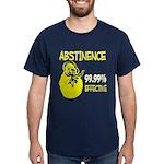 Abstinence: 99.99% Effective Dark T-Shirt