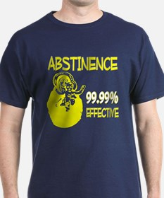 Abstinence: 99.99% Effective T-Shirt