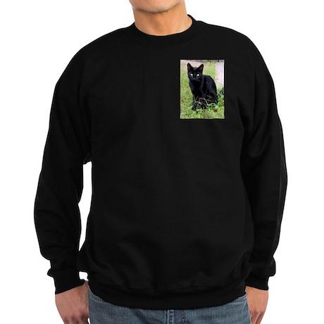 Black Cat Sweatshirt (dark)