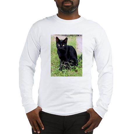 Black Cat Long Sleeve T-Shirt