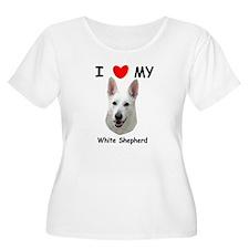 Love My White Shepherd T-Shirt