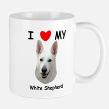 Love My White Shepherd Mug