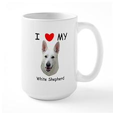 Love My White Shepherd Mug