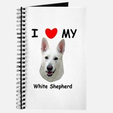 Love My White Shepherd Journal