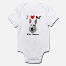 Love My White Shepherd Infant Bodysuit