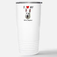 Love My White Shepherd Travel Mug