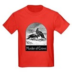 Murder of Crows Kids Dark T-Shirt