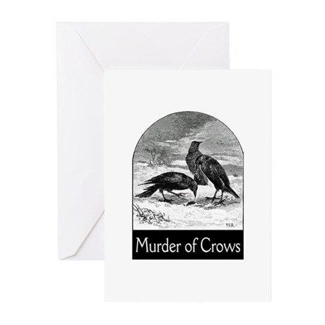 Murder of Crows Greeting Cards (Pk of 10)