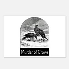 Murder of Crows Postcards (Package of 8)