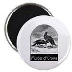 Murder of Crows Magnet