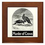 Murder of Crows Framed Tile
